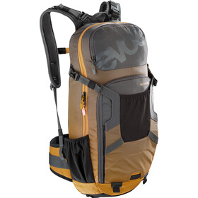 EVOC FR Enduro Protector Backpack 16l, carbon grey/loam